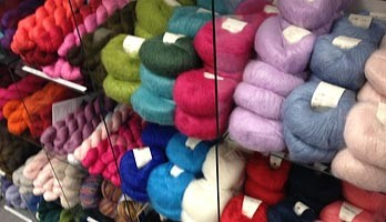 yarn knitting products offered at Second Story Knits